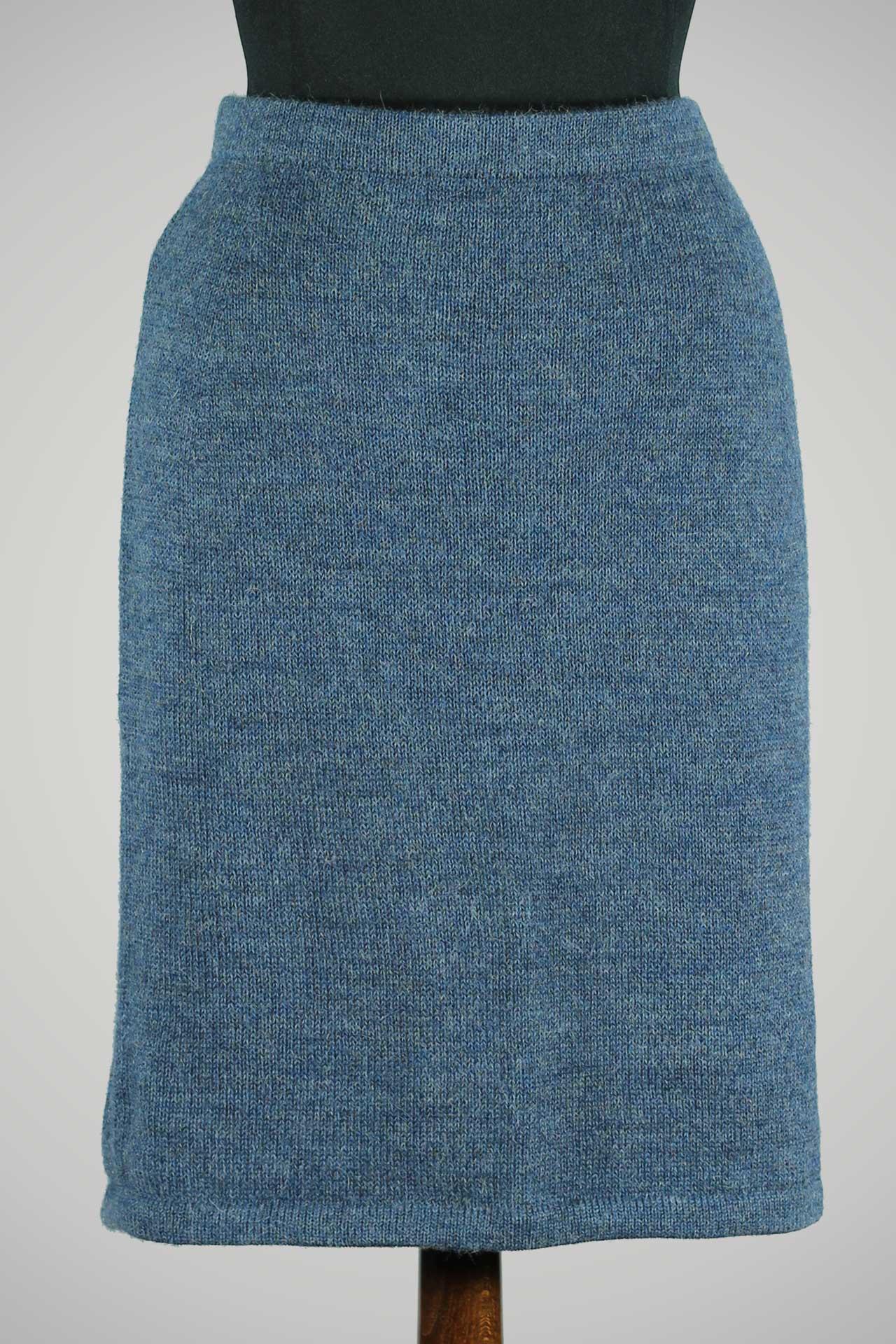 Alpaca-wollen-rok-gebreid-denim-blauw-duurzaam-warm