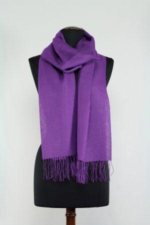 alpaca-zijden-shawl-paars-lavendel-Pashmina