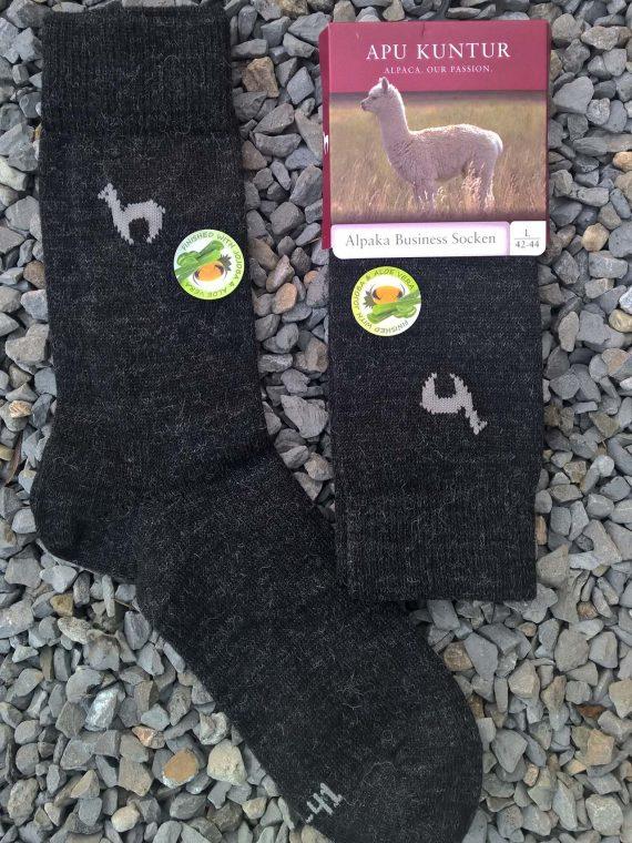 Alpaca-wollen-sokken-donker-grijs-warm