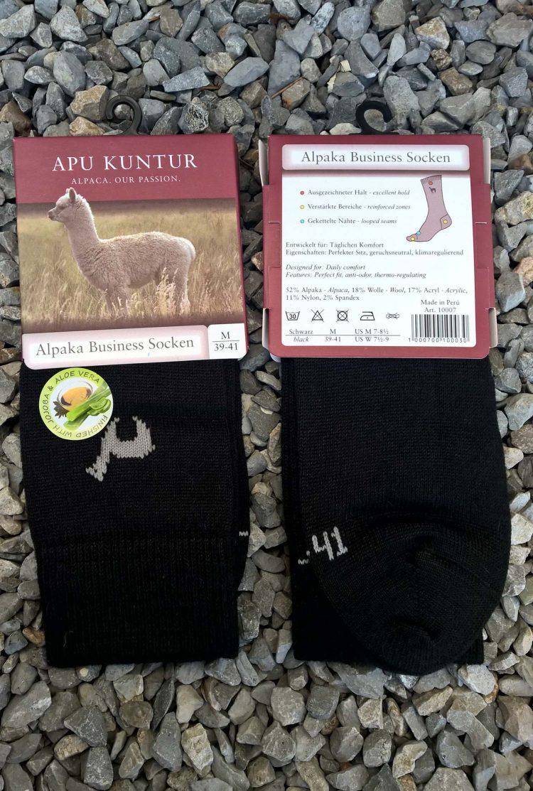 Sokken-zwart-alpaca-wol-gebreid-warm