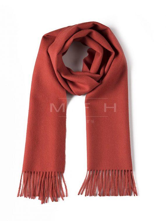 Donker-oranje-alpaca-wollen-sjaal-dames-heren-shawl-franjers