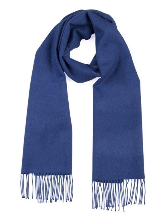 Kobalt-blauw-sjaal-dames-heren-shawl-alpaca-wol-franjers