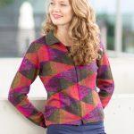 ASARTI trendy dames vest alpaca wol ritssluiting en kraag