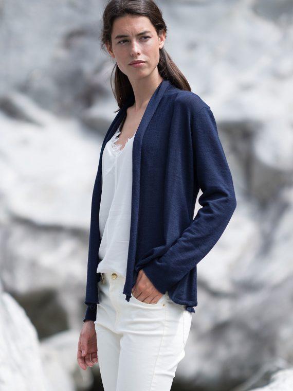 Dun-alpaca-wollen-dames-vest-donkerblauw-duurzaam-ecologisch-eerlijk