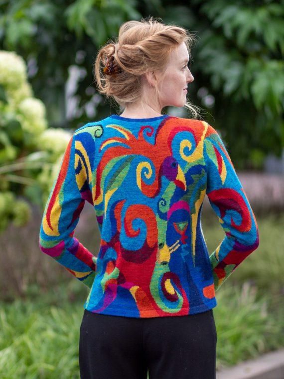 ASARTI alpaca wol dames vest